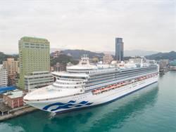 臺灣港務公司與公主遊輪號召留言 關心乳癌抽紀念品
