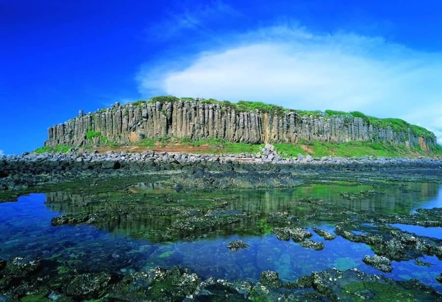 澎湖玄武岩。圖:華信提供