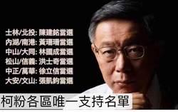 台北》友柯議員候選人若出師不利 張凱鈞:代表柯P素人從政神話破滅