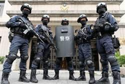 龍燕選前之夜首出動防爆犬 派440名警力、霹靂小組維安