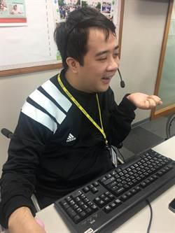 一次機會換來重生的力量  詹詠勝榮獲新北身障模範勞工