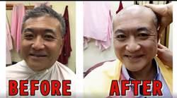 剃了嗎?何啟聖履約剃禿頭開心:從頭改變選舉惡習
