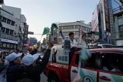 台中》賴神加持林佳龍 讚爭取中央最多預算市長