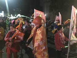 新竹市》林智堅選前之夜 橘子隊伍綿延1公里好似嘉年華