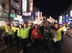 桃園》鄭文燦選前之夜 徒步掃街受民眾歡迎