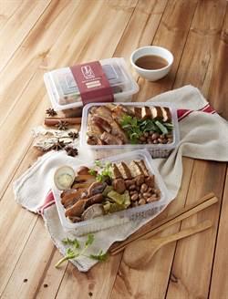 上班族新選擇!外帶餐盒「香滷豬手餐」、「綜合滷水餐」上市