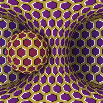 測你壓力大不大? 這張瘋狂轉動「錯視圖」讓人頭昏眼花