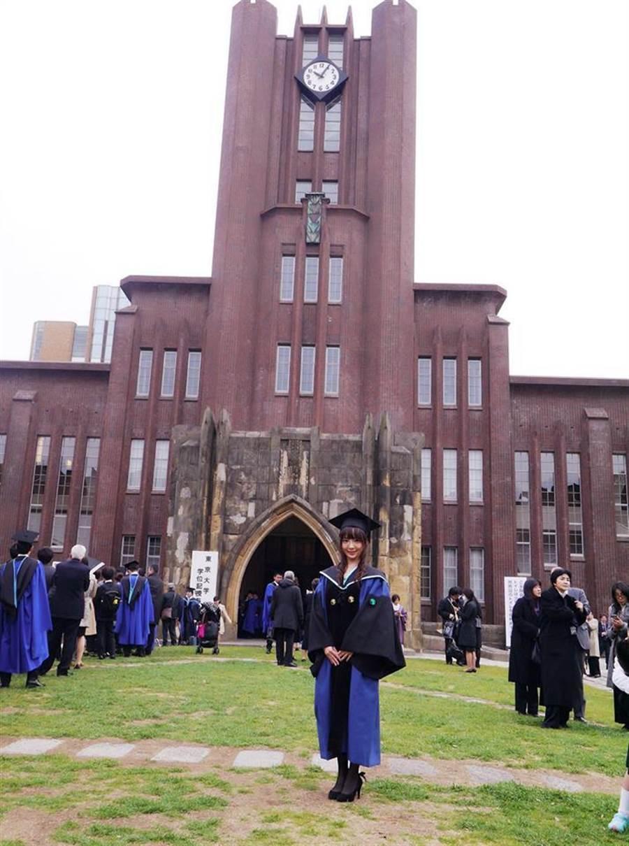 2007年畢業於名古屋大學醫學系,2017年取得東京大學醫學系研究科外科博士學位。(圖/翻攝自臉書)
