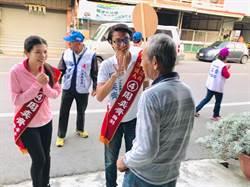 台南》山區議員候選人 選前拜票衝刺
