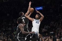 NBA》打破魔咒!羅斯領灰狼摘客場首勝