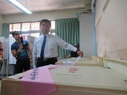台南》黃偉哲、蘇煥智完成投票 都覺得公投太複雜