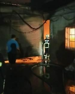 選舉夜悲劇!彰化紡織工廠惡火 7人燒嗆傷送醫2人插管