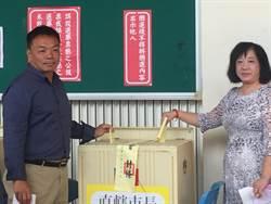 台南》高思博投票稱對選情有信心 公投等1小時有改進空間