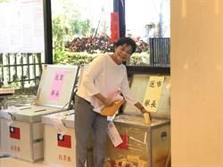 桃園》等1.5小時投完票 楊麗環:剩下給選民決定