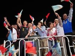 黃敏惠宣布當選 歡呼:這是嘉義市民的勝利