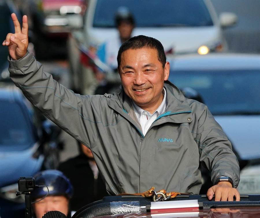 國民黨新北市長當選人侯友宜。(圖/本報資料照,黃世麒攝)