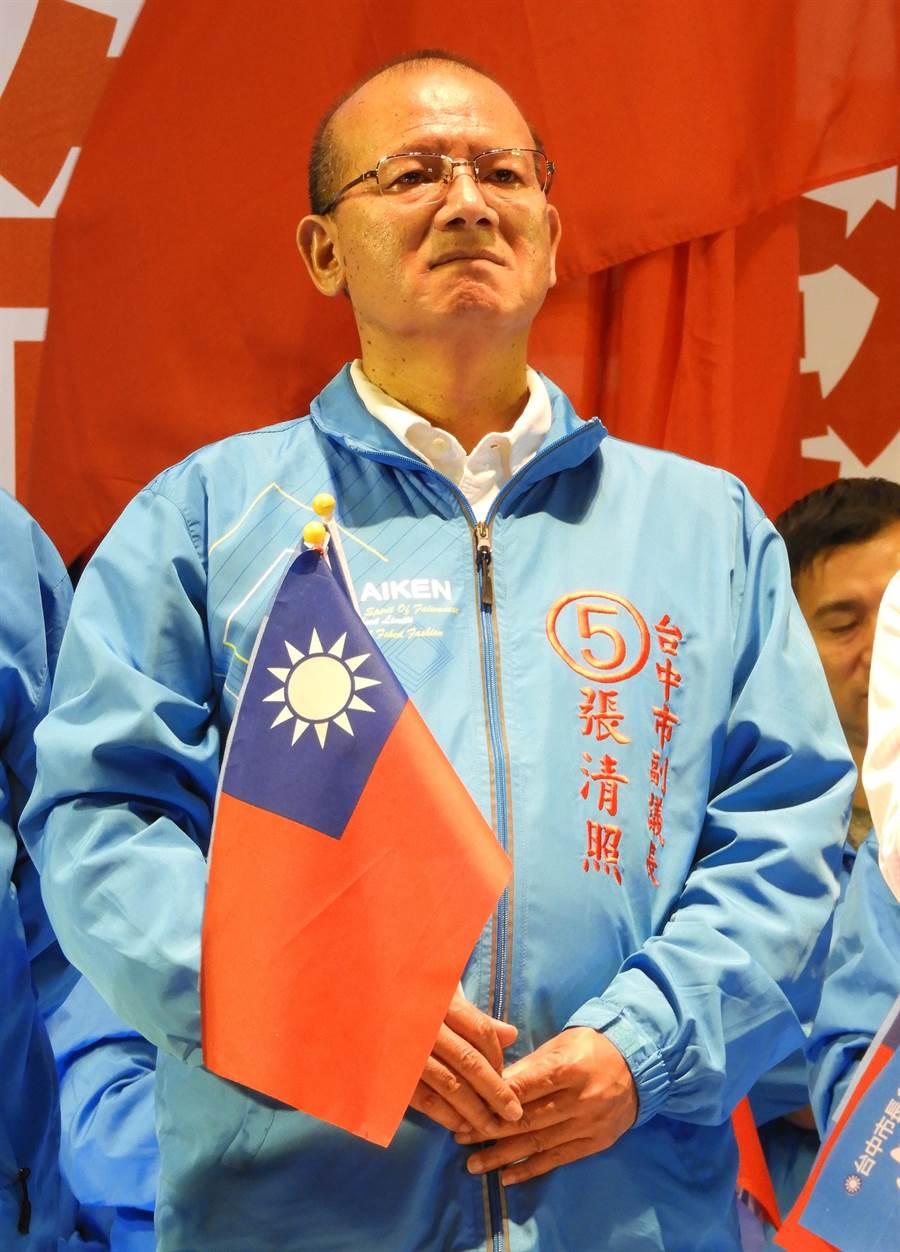 台中市議會副議長張清照,將更上層樓問鼎下屆議長寶座。(陳世宗攝)
