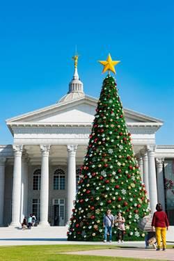 奇美博物館首發耶誕周末盛宴 幸福聖誕樹掀拍照打卡熱潮