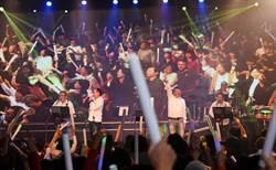 5人300歲!鶴耳矇樂團為慈善演唱豁出去 熱力大爆發
