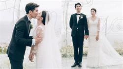 婚禮誓詞惹淚崩!修杰楷甜吻賈靜雯:「接下來每一天我會握著妳的手永不放開,我愛妳。」