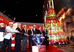 南紡集團董座侯博明耶誕節前夕點燈並作公益