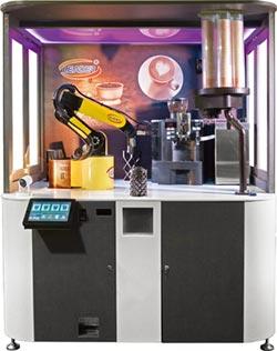 勵德二代機器人咖啡機 全新電子支付