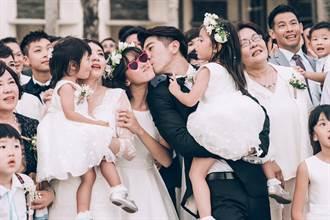 賈靜雯、修杰楷婚禮「甜到哭」!Angel是推手、咘咘當花童