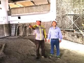 大里第一公有市場閒置空間活化修繕工程