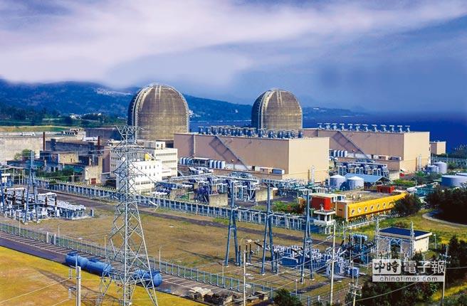 核三廠。圖/中央社