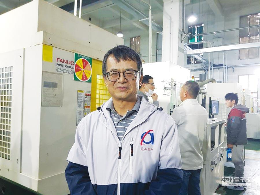 安力-KY董事長許振焜。圖/鄭淑芳