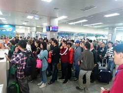 金門選後返台鄉親多  楊鎮浯爭取加班機疏運