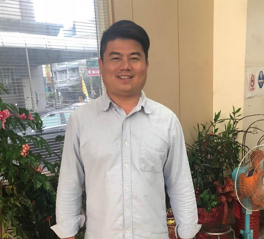 民進黨首度執政雲林縣褒忠,40歲的陳建名當選為全縣最年輕的鄉鎮市長。(許素惠攝)