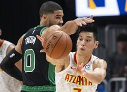 NBA》飆進三分球 林書豪雙位數得分仍中斷