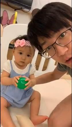 影》江宏傑開直播炫娃 粉絲狂讚小小愛像馬麻