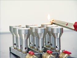 九鼎專利陶瓷爐頭 成就高節能