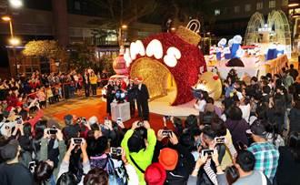 小西門廣場上的「耶誕奇幻樂園」熱鬧登場