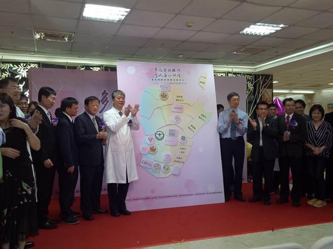 衛生福利部嘉南療養院成立「整合性藥癮醫療示範中心」。(曹婷婷攝)