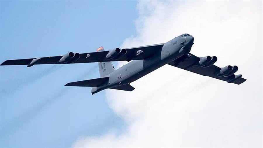 美國空軍B-52戰略轟炸機。(圖/美聯社)