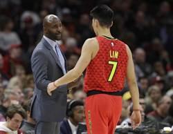 NBA》失去才知可貴 老鷹教頭:我們很想念林書豪
