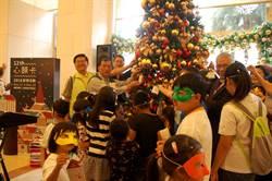 耐斯王子大飯店巧種耶誕樹 數百顆弱勢星願都亮了