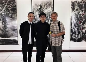 陳玄茂父子用水墨畫記錄台灣風貌 探討人生哲理