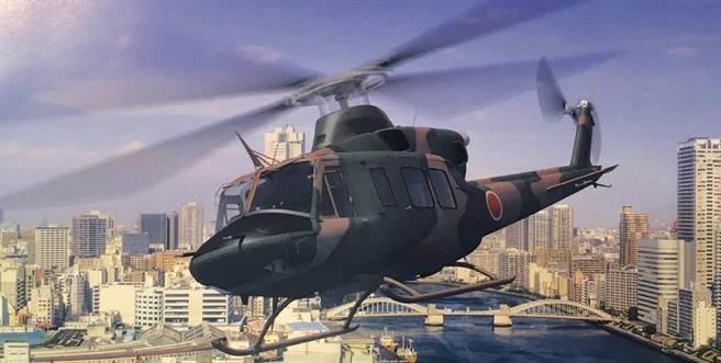 日本UH-X直升機未來將成為陸上自衛隊的主力通用直升機。(圖/SUBARU)