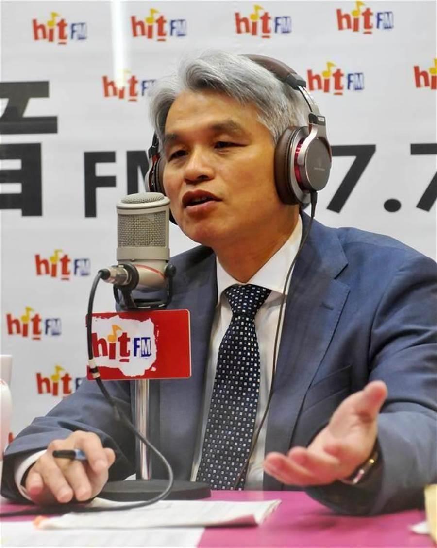 前中選會主委陳英鈐。(劉宗龍攝)