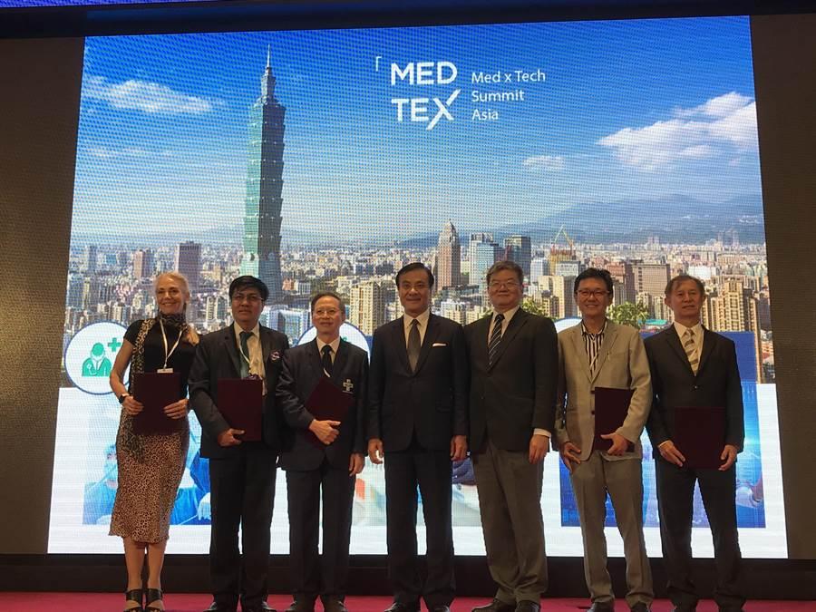 醫療科技創新論壇(MEDTEX)盛大舉行  簽署 5 MOU 深化台灣國際連結(杜蕙蓉攝)