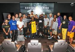 NBA》影帝來了!丹佐華盛頓造訪湖人演講激勵