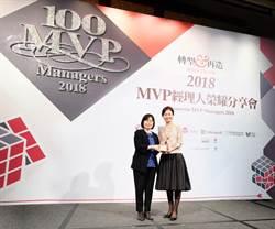 2018年「台灣百大MVP經理人」  台新銀經理人潘嘉惠上榜