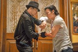 東尼嘉合作張晉對打變鬥舞
