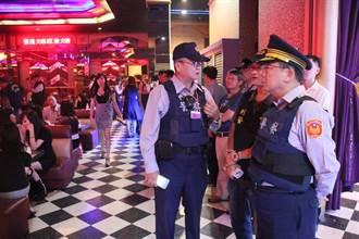 南市一夜連環開槍 警方掃蕩酒店扳顏面