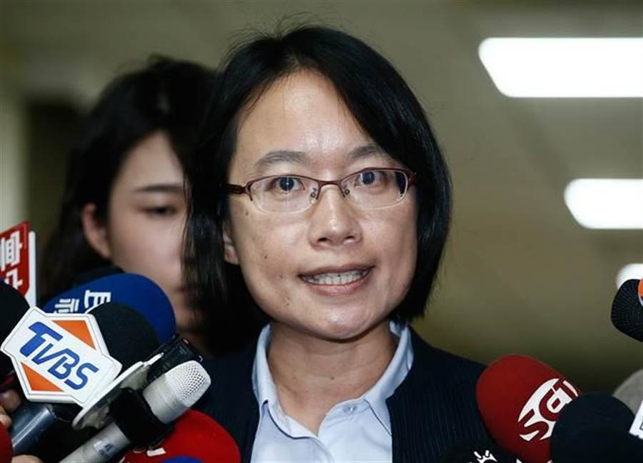 民進黨選舉大敗,北農總經理吳音寧「被」下台。(資料照 方濬哲攝)