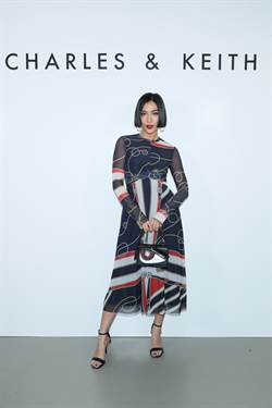 時尚名人莫莉愛牌CHARLES & KEITH 香港展店吸引群星開趴